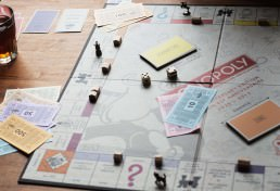 Happiness for business owners - Monopoly board game