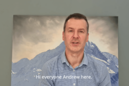 Andrew Ross, Business Advisor talks about monthly reporting